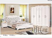 A Set Of Imported Bed White | Furniture for sale in Rivers State, Port-Harcourt