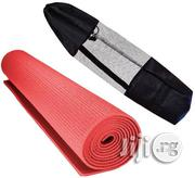 Yoga Mat Red Colour | Sports Equipment for sale in Lagos State, Surulere