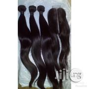 """18"""" India Body Wave With Closure 