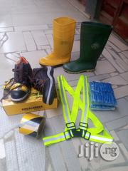Safety Boot & Rainboot & Shoe Cover & Reflector Belt. | Shoes for sale in Ogun State, Ijebu Ode