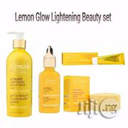 Lemon Glow Super Brightening Beauty Set | Skin Care for sale in Lagos State, Ojo