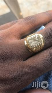 Solid 18karat Gold Ring Anchor Logo Design | Jewelry for sale in Lagos State