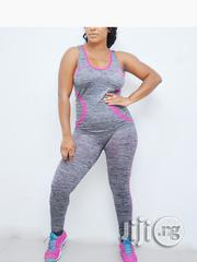 Khard Collections All-gray Full Fitness Wear | Clothing for sale in Lagos State, Lagos Mainland