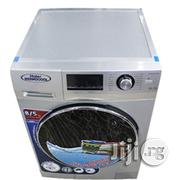Haier Thermocool Front Load Washing Machine (8.5kg) Silver   Home Appliances for sale in Lagos State, Ikeja