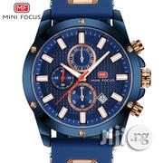 MINI FOCUS Watch Men Chronograph Top Brand Luxury Quartz Watches | Watches for sale in Lagos State, Ikeja
