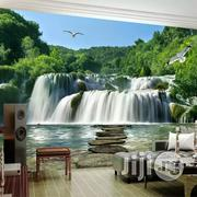 Beautiful Waterfall 3D Wallpaper Murals | Home Accessories for sale in Lagos State, Mushin