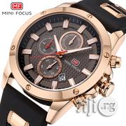 Quartz Male Sports MINIFOCUS Silicone Band Watches   Watches for sale in Lagos State, Ikeja