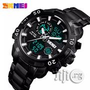 SKMEI Analog/Digital Display Chronograph Watch | Watches for sale in Rivers State, Obio-Akpor