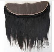 """Frontal Straight Human Hair Closure """"8"""" 