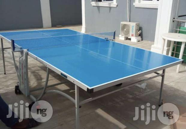 Water Proof Outdoor Table Tennis Board