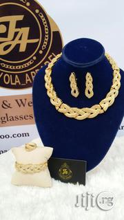 Fullstone Coated Gold Jewellery Set | Jewelry for sale in Lagos State, Ajah
