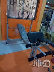 Weight Bench With 100kg | Sports Equipment for sale in Rivers State, Obio-Akpor