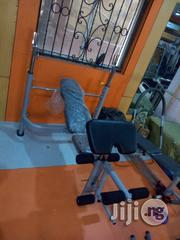 Weight Lifting Bench With 100kg | Sports Equipment for sale in Rivers State, Obio-Akpor