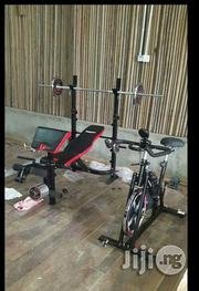 Brand New American Brand Weight Bench With 50kg Weight | Sports Equipment for sale in Lagos State, Lekki Phase 1