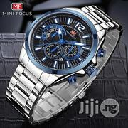 Blue Minifocus Men S Watches Brand Luxury Full Stainless Steel | Watches for sale in Lagos State, Ikeja