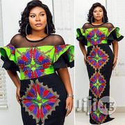 Plains Materials Mixed With Ankara Pattern | Clothing Accessories for sale in Lagos State, Ojodu