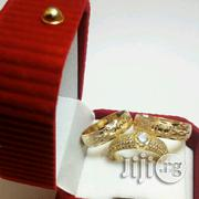 Romania Gold Wedding Ring Set | Wedding Wear for sale in Lagos State, Surulere