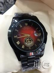 Rolex Just-Date Black Crystal Chain Watch   Watches for sale in Lagos State, Surulere