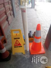 Safety Cone & Ppt Teflon & Shoe Cover & Earmuff | Safety Equipment for sale in Lagos State, Ikoyi