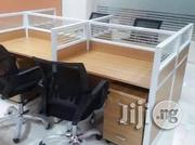 Quality Office 4 Seater Workstation Table | Furniture for sale in Lagos State, Victoria Island