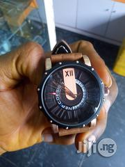Nepic Brown Leather Watch For Men | Watches for sale in Rivers State, Port-Harcourt