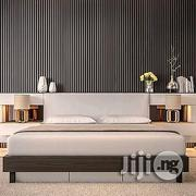 6ft X 6ft Keb Bedframe With A Dimension And Two Bedside Tables | Furniture for sale in Lagos State, Alimosho