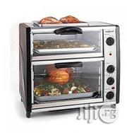 Master Chef Electric Toaster Oven With Top Grill - Mc-E02042 | Kitchen Appliances for sale in Lagos State, Alimosho