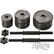 New 30kg Chrome Detachable Dumbbells | Sports Equipment for sale in Rivers State, Port-Harcourt