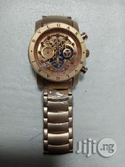 Bvlgari Mens Gold Wristwatch.   Watches for sale in Lagos State, Surulere