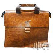 Mont Blanc MONT BLANC Men's Leather Conference Bag - Official   Bags for sale in Lagos State, Lagos Island
