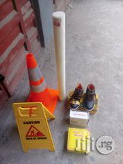 PPT Teflon & Wet Floor & Caution Tape & Nurse Cap | Safety Equipment for sale in Lagos State, Lagos Island