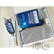 Sony PS VITA - WIFI - Plus Pouch & SD2VITA Micro SD Memory Card Adapter/Converter | Video Game Consoles for sale in Lagos State, Ikeja