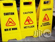Foldable Two Sides Safety Sign Caution | Safety Equipment for sale in Lagos State, Amuwo-Odofin