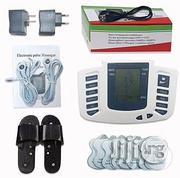 8 Pads Body Massager and Acupuncture Therapy Machine With Slippers | Massagers for sale in Lagos State, Lagos Mainland