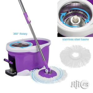 Pregnant Woman Friendly Magic Spin Mop With Foot Pedal