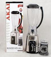 1.5L Blender With Mill Akai | Kitchen Appliances for sale in Lagos State, Alimosho