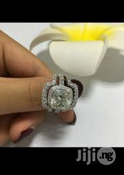 Exotic Ladies Engagement Ring in a Box - Silver | Wedding Wear for sale in Lagos State, Ikeja