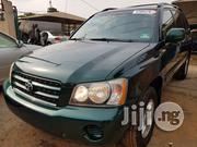 Clean Tokunbo Toyota Highlander 2003 Green | Cars for sale in Lagos State, Ikeja