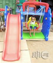 Brand New 3 In 1 Children Slide, Swing And Basketball Post | Toys for sale in Lagos State, Ikeja