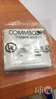 Systimax Cat 6 Plateface Single | Electrical Tools for sale in Lagos State, Ikeja