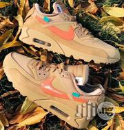 "Off White X Nike Air Max 90,""Desert Ore"" Now Available. 