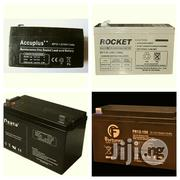 12V 40AH Deep Cycle Battery Neat And Strong Fairly Used | Solar Energy for sale in Lagos State, Ikeja