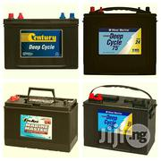 12V 65AH Deep Cycle Battery, Neat And Strong, Fairly Used   Solar Energy for sale in Lagos State, Ikeja