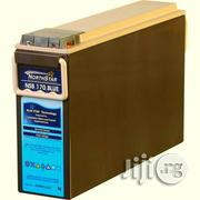 12V 100ah Slim Telecom Deep Cycle Battery | Solar Energy for sale in Lagos State, Ikeja