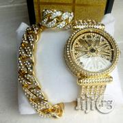 Complete Rolling Gold Watch | Watches for sale in Lagos State, Surulere