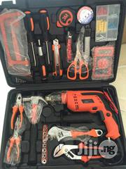 Portable Tools Box With Drill Machine | Electrical Tools for sale in Lagos State, Lagos Island