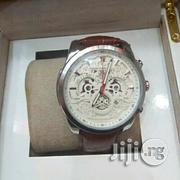 Brown Leather Watch | Watches for sale in Lagos State, Surulere