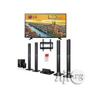 "LG 65"" LED TV & Bluetooth DVD Home Theatre With HDMI + Free Wall Mount 