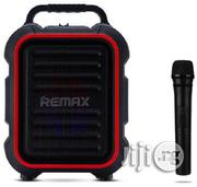Remax Rb-x3 Wireless Outdoor Speaker With Microphone | Audio & Music Equipment for sale in Lagos State, Ikeja