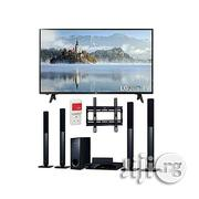LG 49-inches LED TV & Bluetooth DVD Home Theatre + Free Wall Mount | TV & DVD Equipment for sale in Lagos State, Ikeja